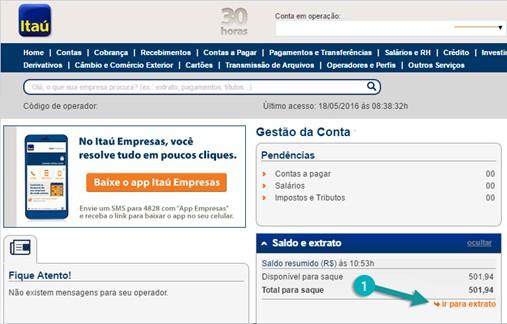 internet banking itaú