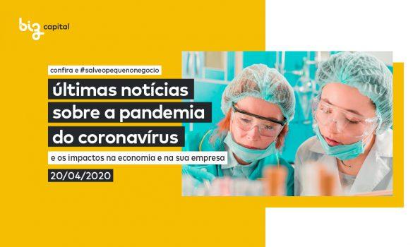 Efeitos da Covid-19: últimas notícias sobre a pandemia