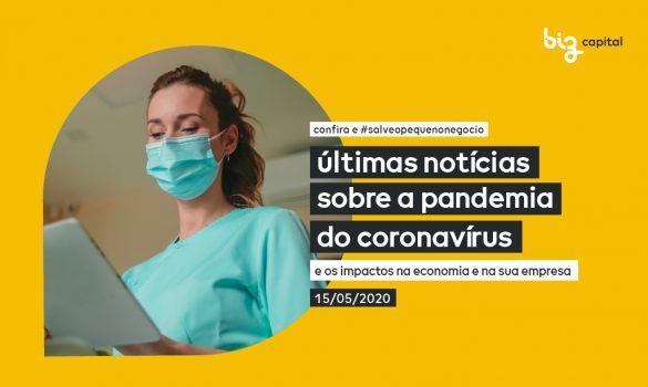 Informações sobre Coronavírus: últimas notícias sobre a pandemia