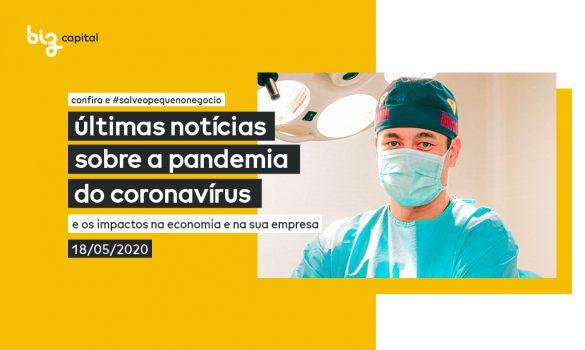 Informações sobre a Pandemia: últimas notícias sobre o Coronavírus