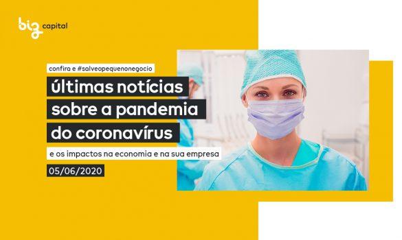 Crise provocada pelo Coronavírus: últimas notícias e novidades