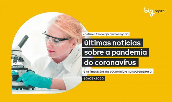 Covid-19 e seus impactos: as últimas notícias sobre o Coronavírus